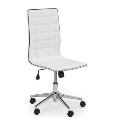 Fotel obrotowy Halmar Tirol biały