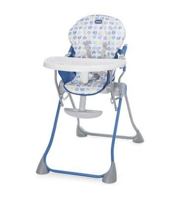 Krzesełko do karmienia Chicco Pocket Meal blue