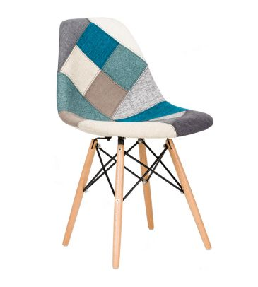 Krzesło patchwork TDF Storm 04