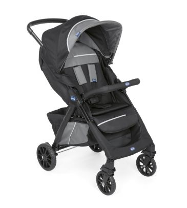 Wózek spacerowy Chicco Kwik One jet black