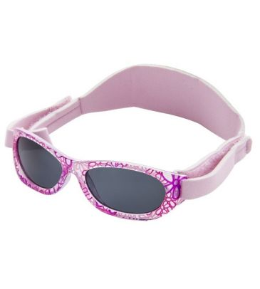 Okulary przeciwsłoneczne Kiddus Baby KI30220 flowers pink