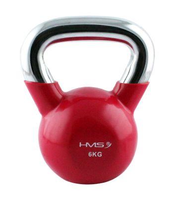 Kettlebell 6 kg HMS czerwony