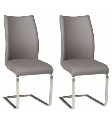 Krzesła Forte Liguria KR0080-MET-U02GR 2 szt.