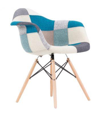 Krzesło patchwork TDF  Vario 04