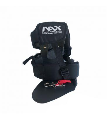 Profesjonalne szelki NAX do kos spalinowych z osłoną na biodro