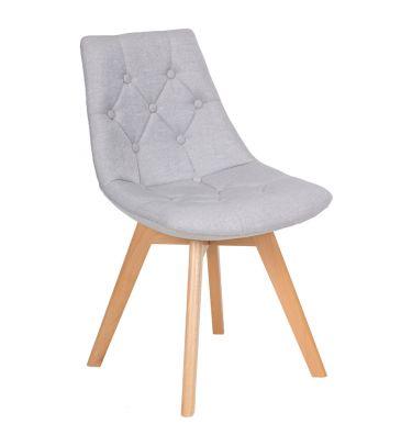 Krzesło LCN Dott szare
