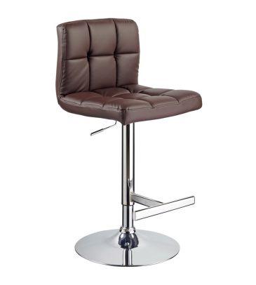 Krzesło barowe Signal C-105 brązowe