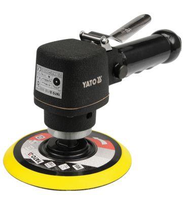 Szlifierka pneumatyczna oscylacyjna fi 150mm YATO YT-0967