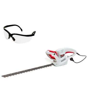 Zestaw: Nożyce elektryczne do żywopłotu NAC HE60-CH + okulary B523