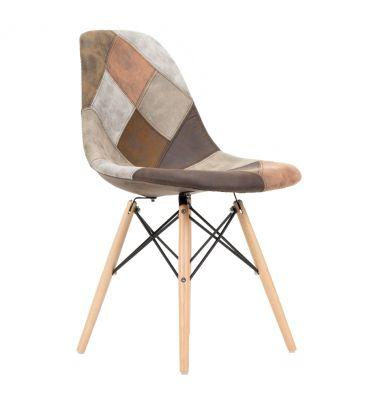 Krzesło patchwork TDF Storm 09