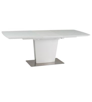 Stół rozkładany Signal Felipe biały 160x90
