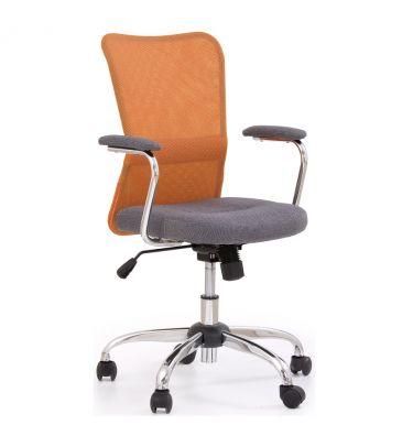 Fotel obrotowy Halmar Andy pomarańczowy