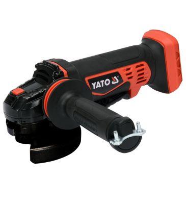 Szlifierka kątowa YATO YT-82827 18V + 10 tarcz do cięcia metalu