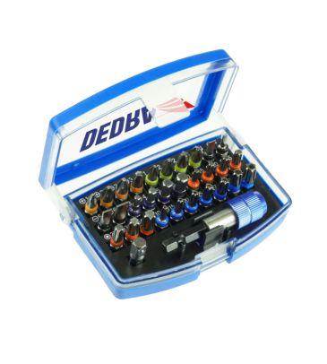 Zestaw akcesoriów do wkręcania Dedra 18A11S032 kpl. 32szt