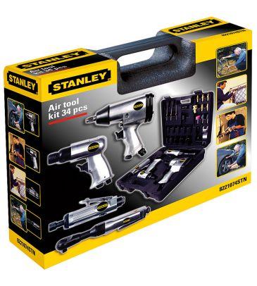 Zestaw narzędzi pneumatycznych Stanley Kit 34 8221074STN