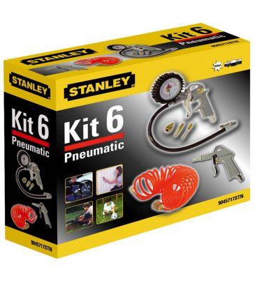 Zestaw narzędzi pneumatycznych Stanley Kit 6 9045717STN