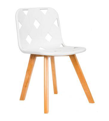 Krzesło TDF Azurro white