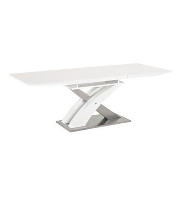 Stół rozkładany Signal Raul biały 140x85