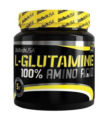 L-glutamina 100% Biotech
