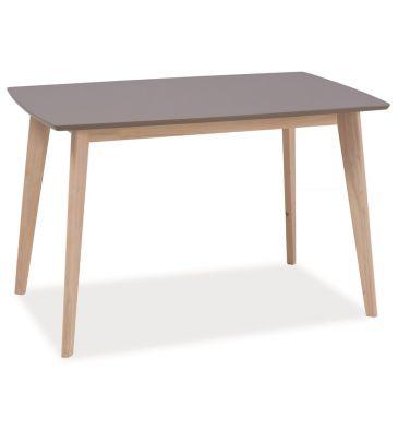 Stół Signal Combo dąb bielony/trufla 120x75