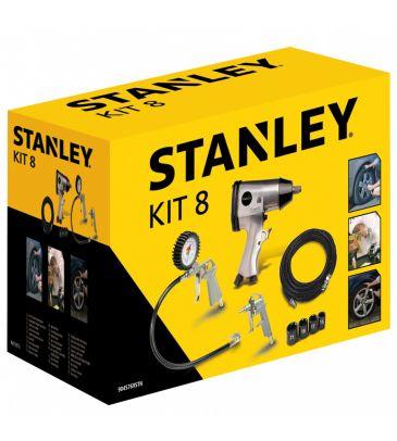 Zestaw narzędzi pneumatycznych Stanley Kit 8 9045769STN