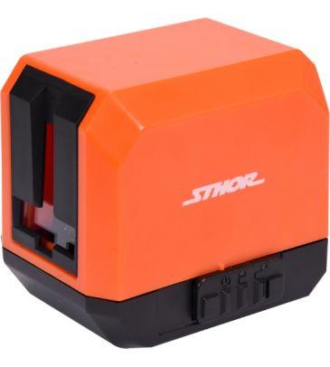 Laser krzyżowy samopoziomujący  z uchwytem mocującym Sthor 18000