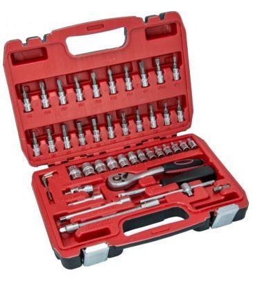 Zestaw kluczy nasadowych 17K046 46el. Hillen&Mohr