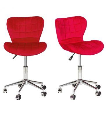 Fotel obrotowy Meven Alez czerwony