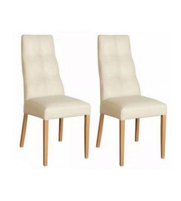 Komplet krzeseł 2szt. Forte KR0048-RWL-C705