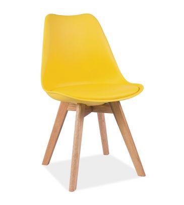 Krzesło Signal Kris żółte