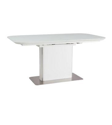 Stół rozkładany Signal Prada biały 160x90