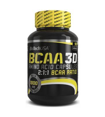 Aminokwasy Biotech BCAA 3D 90 kapsułek