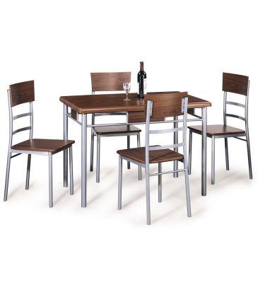 Zestaw stół + 4 krzesła Signal Play 110x70