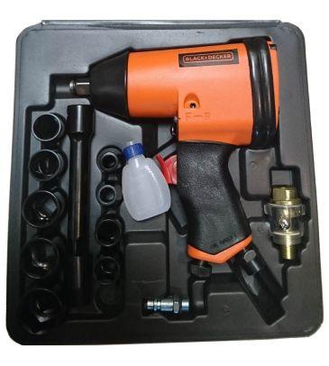 Klucz pneumatyczny Black&Decker 160158XBND z akcesoriami