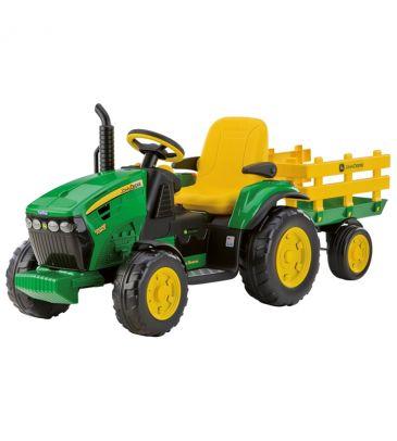 Traktor na akumulator z przyczepą 12V Peg Perego John Deere Ground Force IGOR 0047