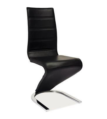 Krzesło Signal H-669 czarno/białe