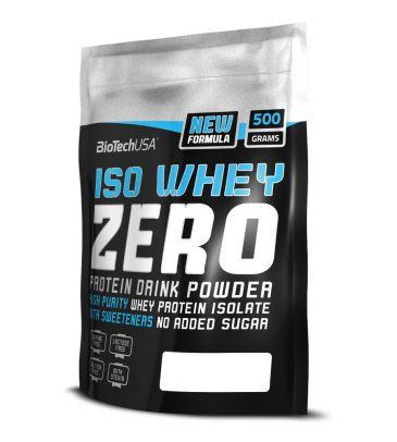 Izolat białka Biotech Iso Whey Zero 500g caffe latte