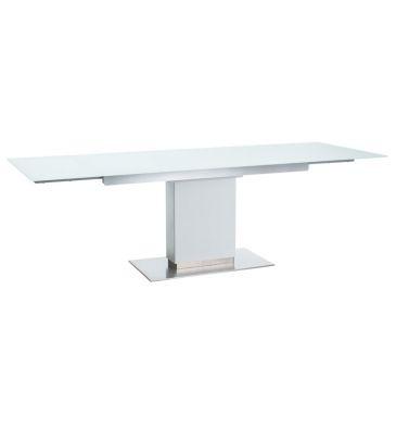 Stół rozkładany Signal Horizon biały 160x90