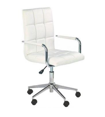 Fotel obrotowy Halmar Gonzo 2 biały