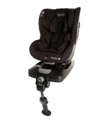 Fotelik samochodowy 0-18 kg Babysafe Westie black