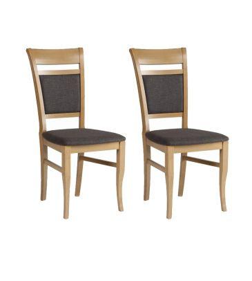 Krzesło 2 szt. Forte Nepal KR0115-B99-BG96