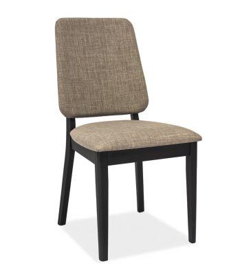 Krzesło Signal Fiori szaro/czarne