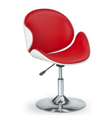 Fotel barowy Halmar H-42 czerwony