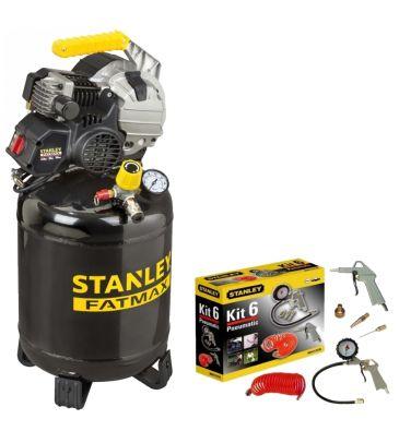 Kompresor hybrydowy olejowy 24L Stanley FATMAX HYCE404STF510 z akcesoriami