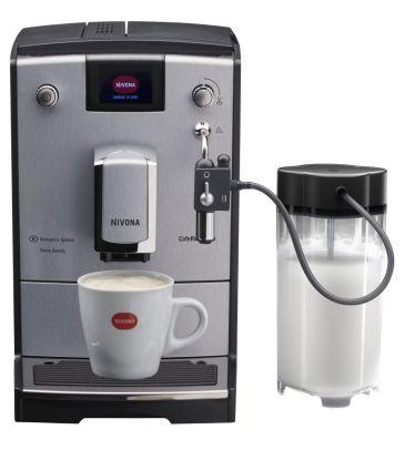 Ekspres ciśnieniowy Nivona CafeRomatica 670 z pojemnikiem na mleko