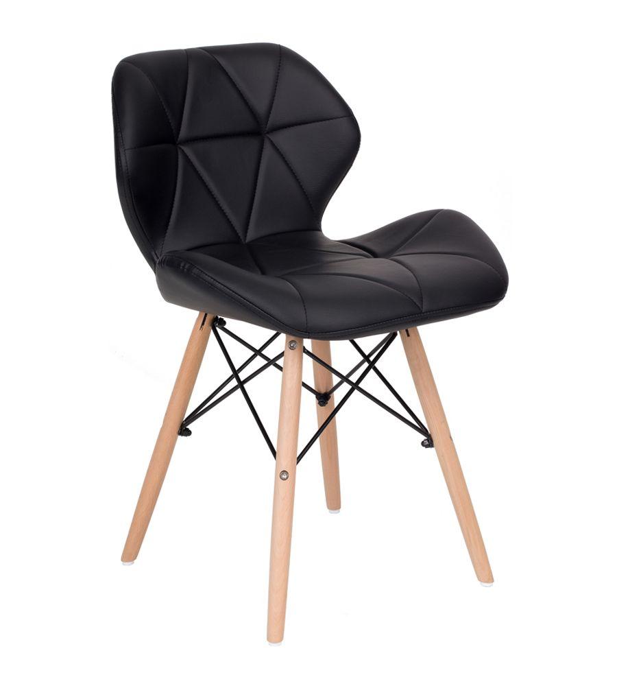 Krzesło LCN Flavio czarne