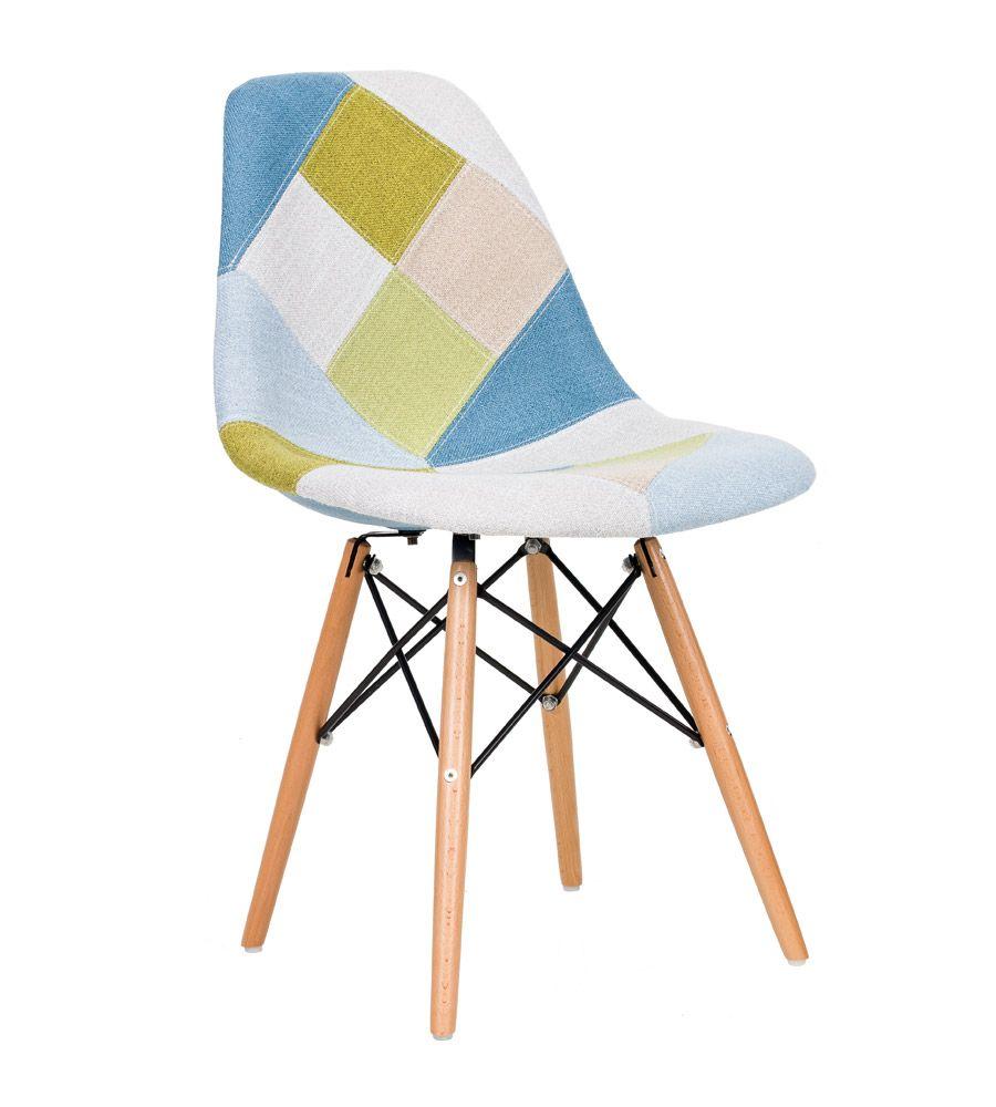 Krzesło patchwork TDF Storm 05