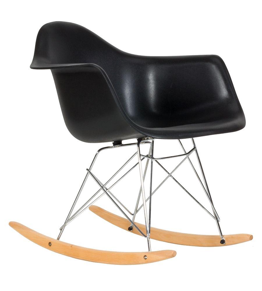 Krzesło skandynawskie Meven Allo czarne