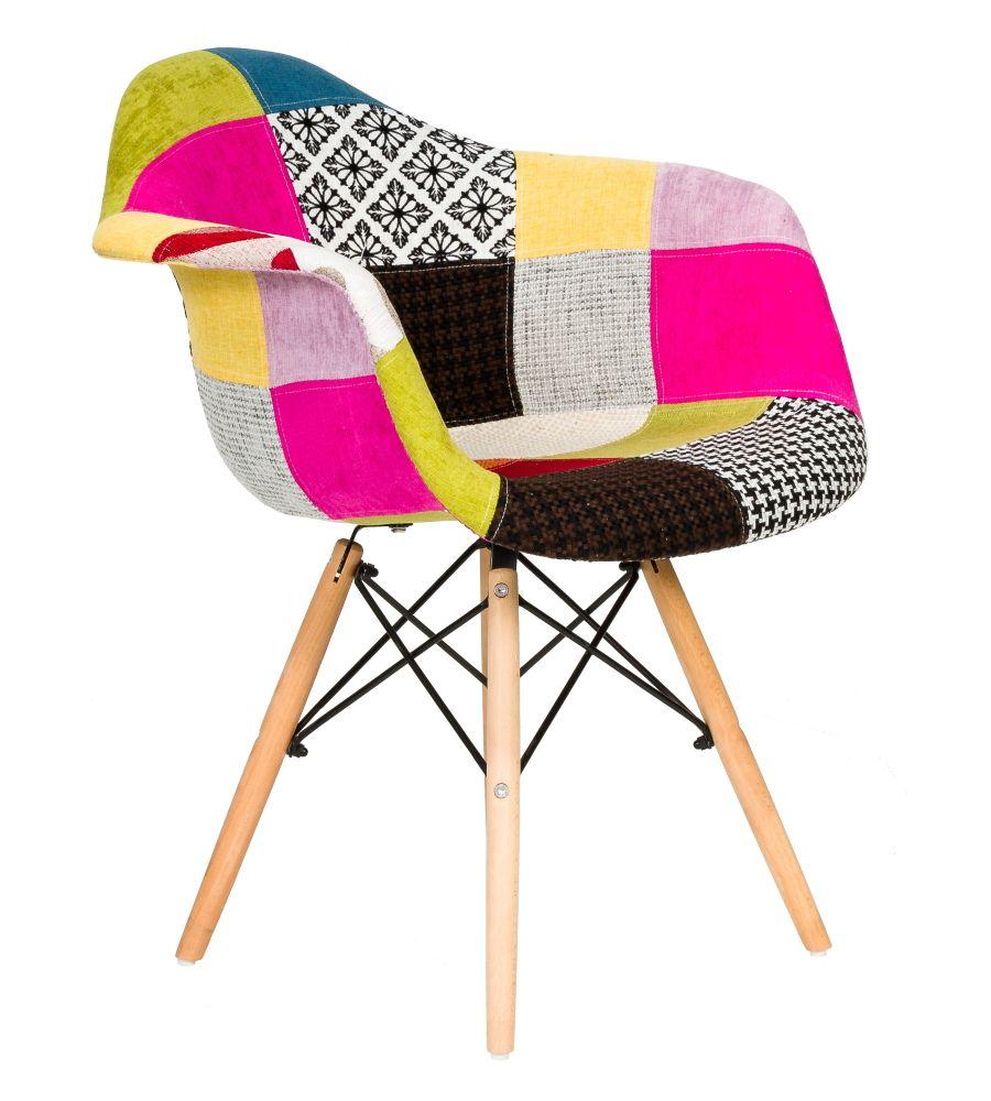 Krzesło patchwork FCS Sato 20