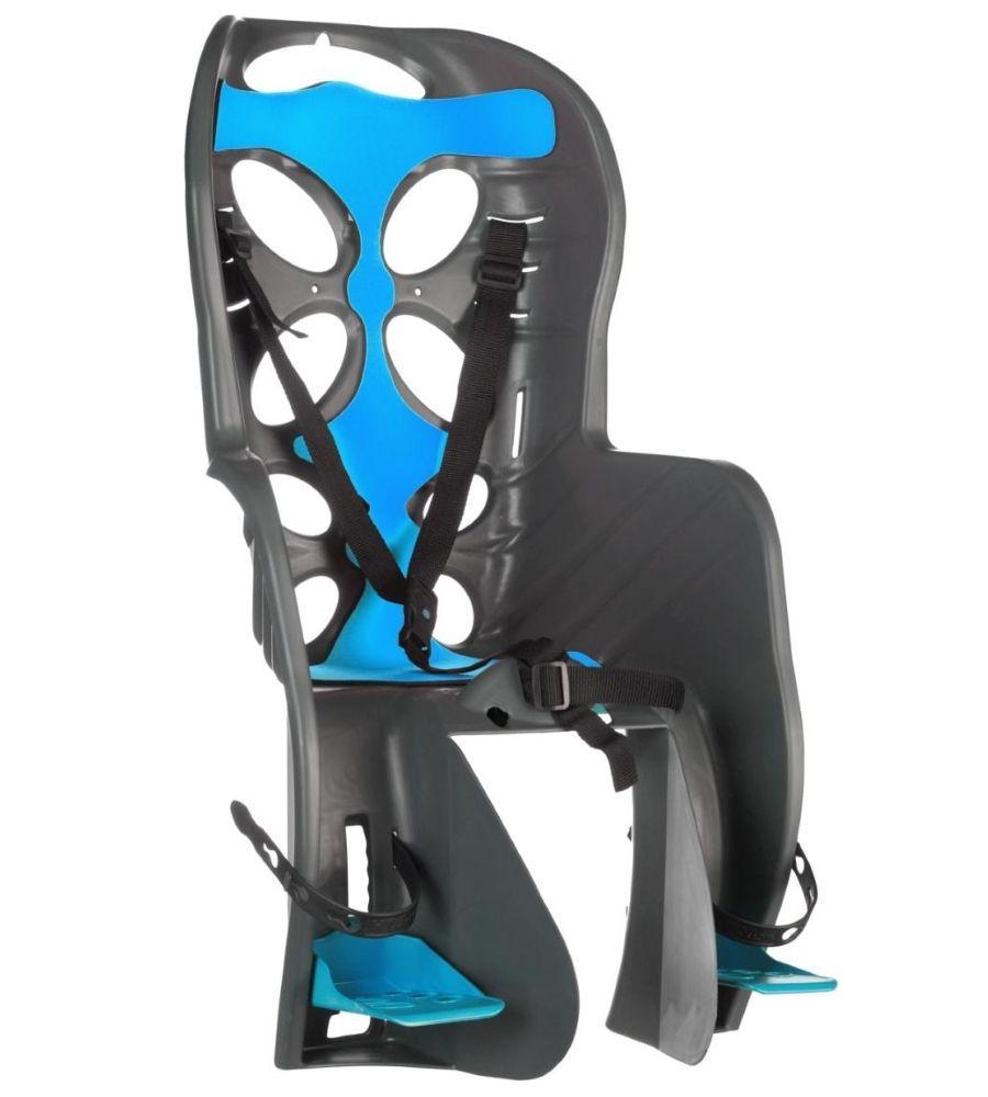Fotelik rowerowy na tył Nfun Curioso Frame dark grey-light blue 57412 NFCSS062